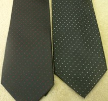 Rose Croix Tie with Red or white Spots