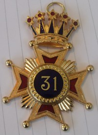 31st Degree Star Jewel