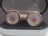Sure and Stedfast Emblem cufflinks