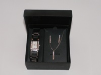 Watch, Necklace and Earring set