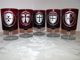 Knights Templar Glasses