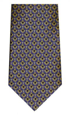 Pure silk craft masonic Tie