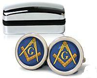Craft enamel Masonic Cufflinks