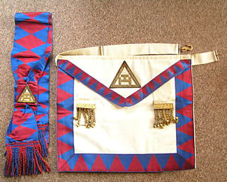 Royal Arch Apron and Sash