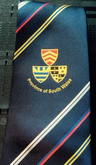 Craft South wales province tie