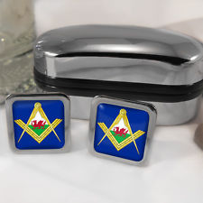 Welsh Masonic cufflinks